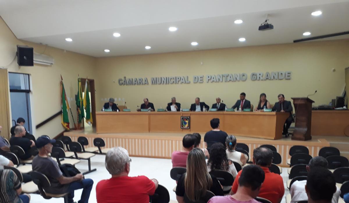 Sessão Ordinária de 10 de dezembro de 2019 - Libinho é o Presidente para 2020